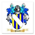 Pinnell Square Car Magnet 3