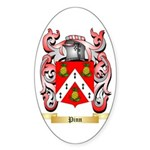 Pinn Sticker (Oval 50 pk)