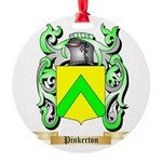 Pinkerton Round Ornament