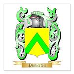 Pinkerton Square Car Magnet 3