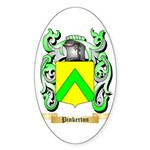 Pinkerton Sticker (Oval 10 pk)