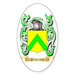 Pinkerton Sticker (Oval 50 pk)