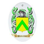 Pinkerton Oval Ornament