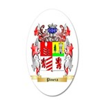 Pinera 20x12 Oval Wall Decal