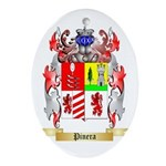 Pinera Oval Ornament