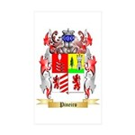 Pineiro Sticker (Rectangle 50 pk)