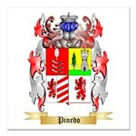 Pinedo Square Car Magnet 3