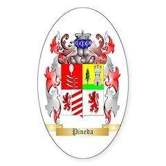 Pineda Sticker (Oval)