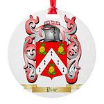 Pine Round Ornament