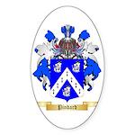 Pindard Sticker (Oval 10 pk)