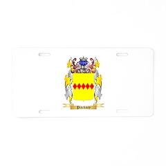 Pinckney Aluminum License Plate