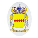 Pinckney Oval Ornament