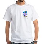 Pinching White T-Shirt