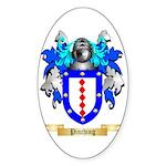 Pinching Sticker (Oval)