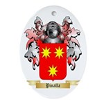 Pinalla Oval Ornament
