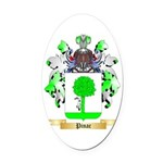 Pinac Oval Car Magnet