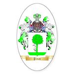 Pinac Sticker (Oval)