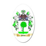 Pinac 35x21 Oval Wall Decal