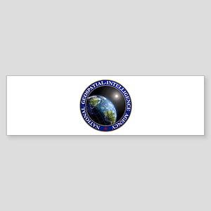NATIONAL GEOSPATIAL-INTELLIGENCE AG Bumper Sticker