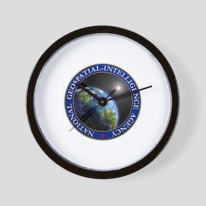 NATIONAL GEOSPATIAL-INTELLIGENCE AGENCY Wall Clock