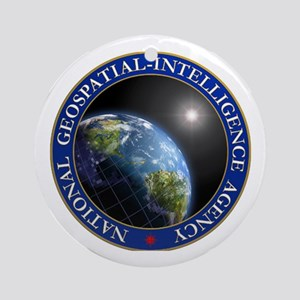NATIONAL GEOSPATIAL-INTELLIGENCE AG Round Ornament
