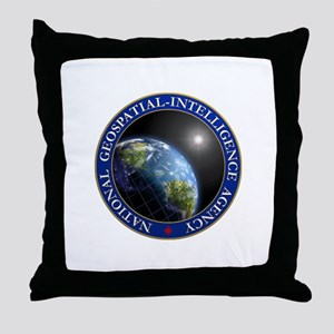 NATIONAL GEOSPATIAL-INTELLIGENCE AGEN Throw Pillow