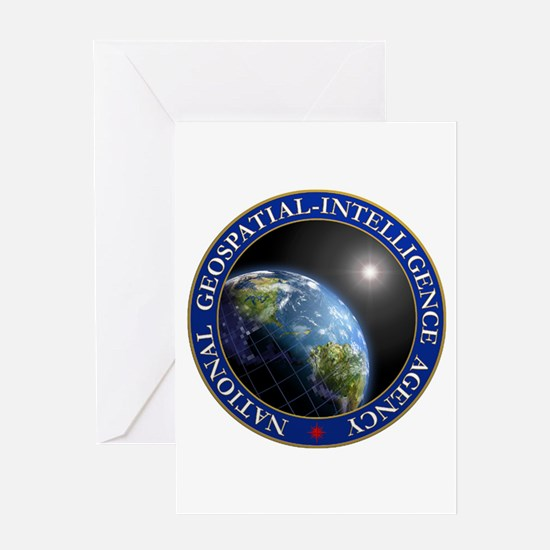 NATIONAL GEOSPATIAL-INTELLIGENCE AG Greeting Cards