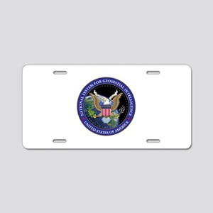 NATIONAL SYSTEM FOR GEOSPAT Aluminum License Plate