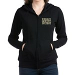 Whiskey Tango Foxtrot Women's Zip Hoodie