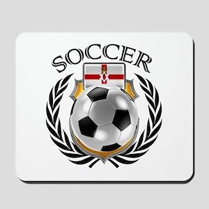 Northern Ireland Soccer Fan Mousepad