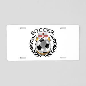 Northern Ireland Soccer Fan Aluminum License Plate