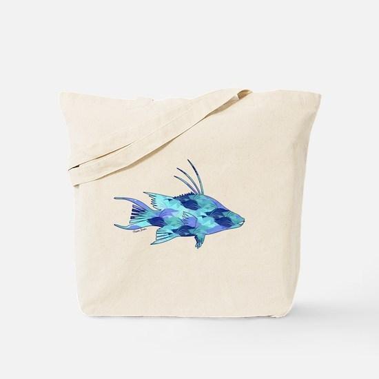 Cute Spearfishing Tote Bag