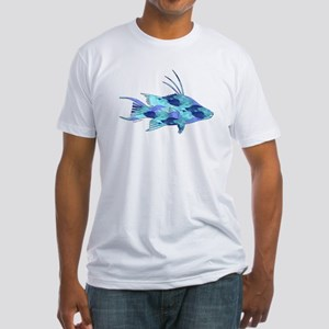 Blue Camouflage Hogfish T-Shirt