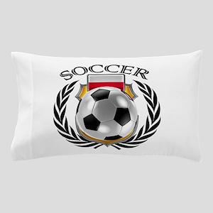 Poland Soccer Fan Pillow Case
