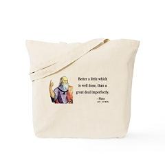 Plato 16 Tote Bag