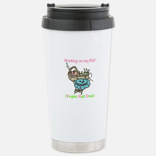 Half Done Project Travel Mug