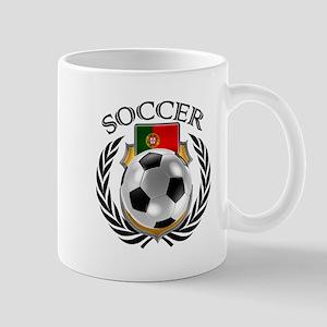 Portugal Soccer Fan Mugs