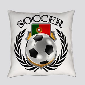 Portugal Soccer Fan Everyday Pillow