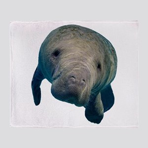 MANATEE Throw Blanket