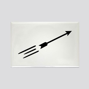 Archery arrow Rectangle Magnet