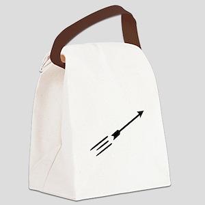 Archery arrow Canvas Lunch Bag