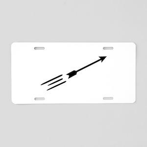 Archery arrow Aluminum License Plate