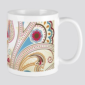 Ornamental Vintage Floral Mugs