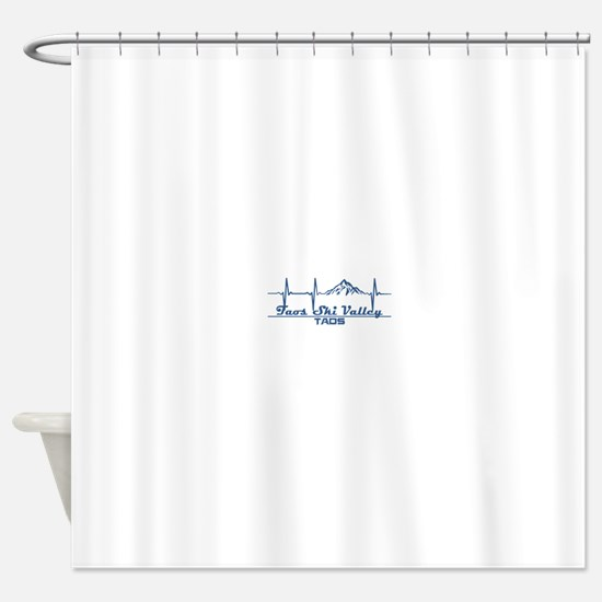 Taos Ski Valley - Taos - New Mexi Shower Curtain