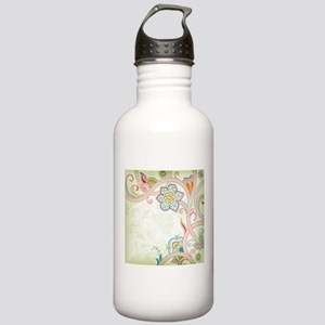 Ornamental Vintage Flo Stainless Water Bottle 1.0L