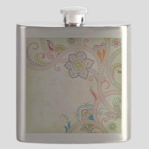 Ornamental Vintage Floral Flask