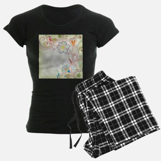 Ornamental Vintage Floral Pajamas