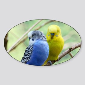 Budgie Love Sticker