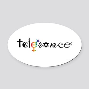 Tolerance Oval Car Magnet