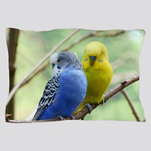 Budgie Love Pillow Case